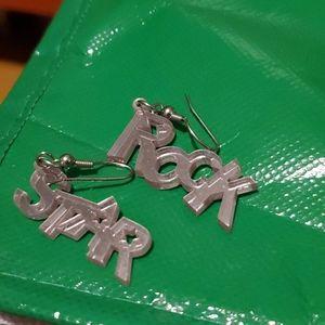 (3 for $10) Rock Star Earrings
